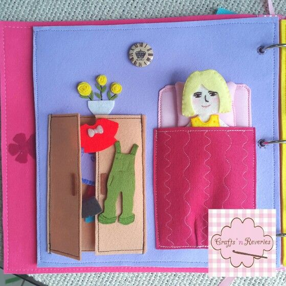 Crochet Quiet Book : ... crafts n reveries crochet baby kids forward crochet baby earflap hat
