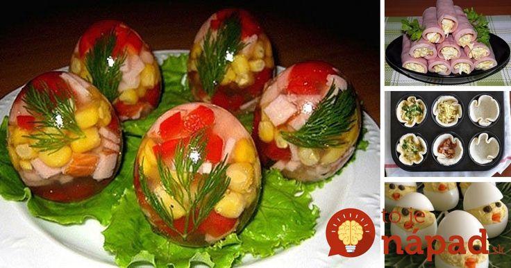Tešíte na sviatky? My sa už nevieme dočkať a kedže vieme, že sviatky jari sa spájajú aj s dobrým jedlom a časom stráveným s rodinou, prinášame vám 13 skvelých nápadov, ako vaše návštevy pohostiť rýchlo a veľmi chutne! :-)