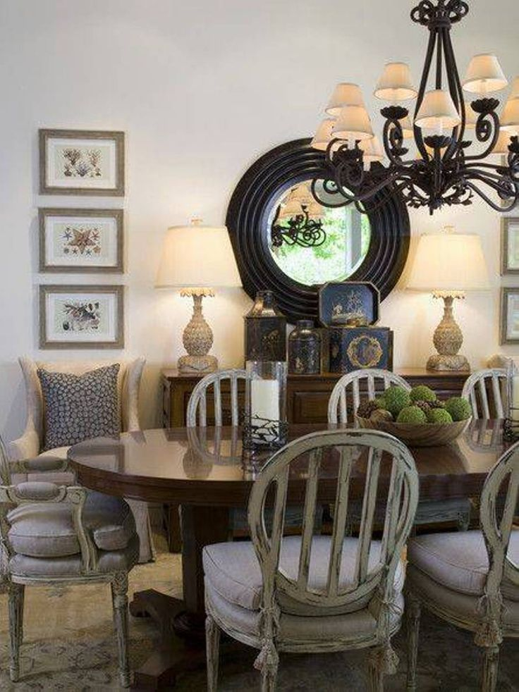 52 best images about dining rooms on pinterest high for Traditional dining room pinterest