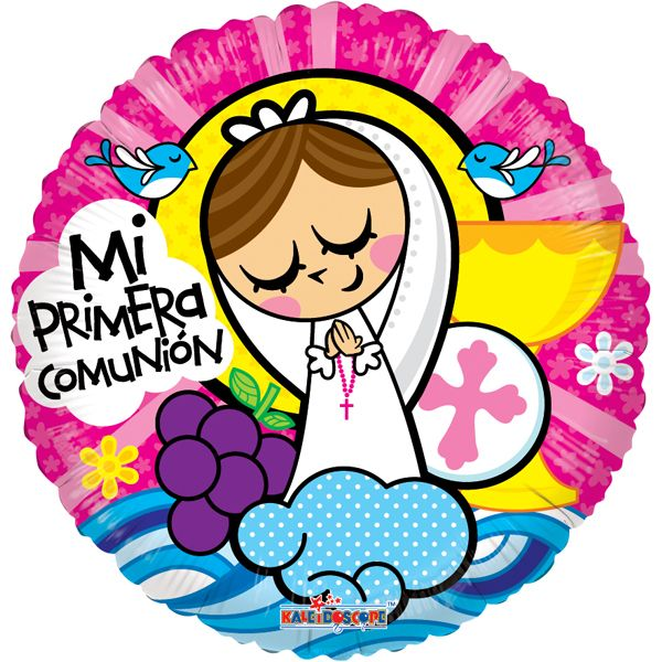 PRIMERA COMUNION NENA