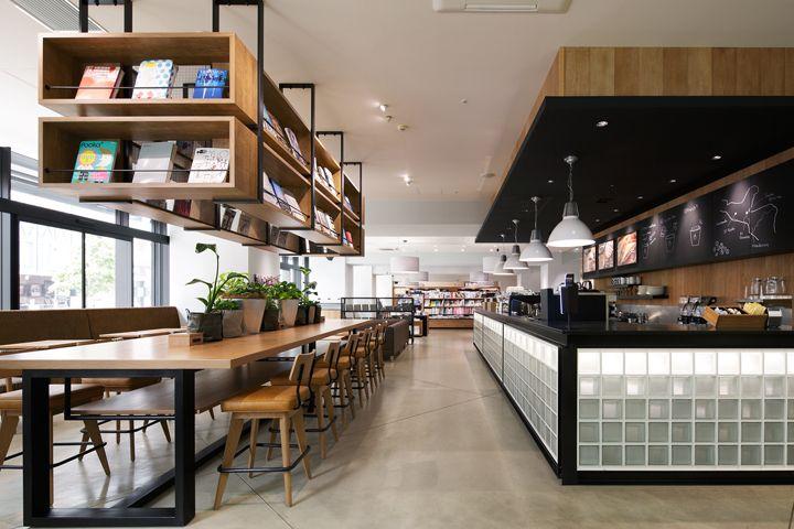 TSUTAYA Sumiya Shizuoka///Culfe book store and café by fan-Inc, Shizuoka – Japan » Retail Design Blog