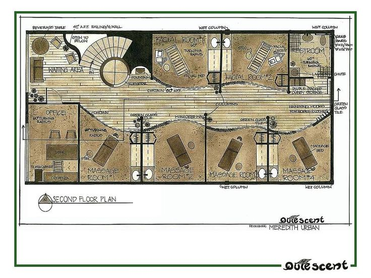Day Spas Floor Plans And Spas On Pinterest