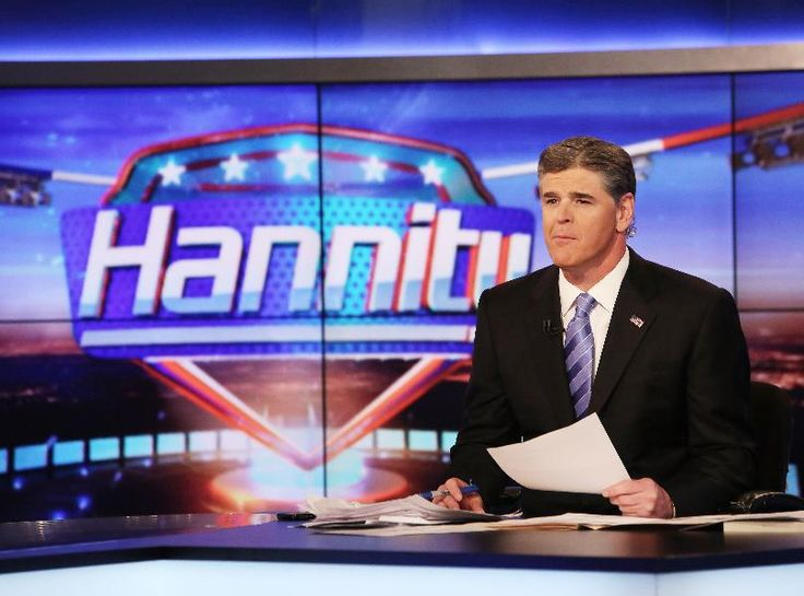 Sean Hannity talks politics on his Fox News program and ...