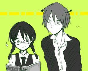 【暗殺教室】赤羽業×奥田愛美のカップリングイラストまとめ【カル愛】 - NAVER まとめ