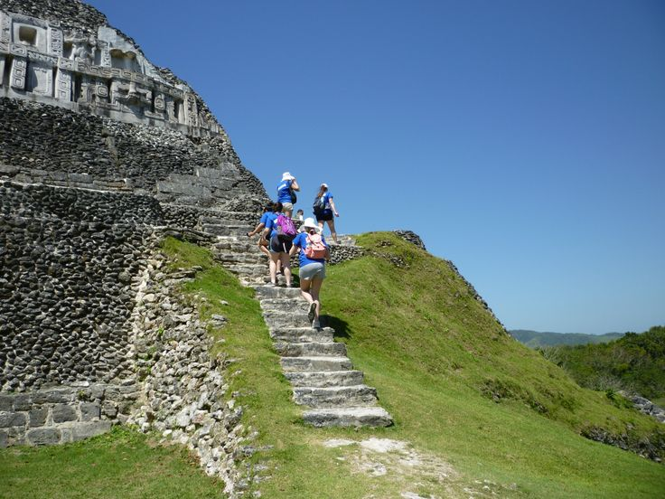 Pitt Community College visiting Xunantunich