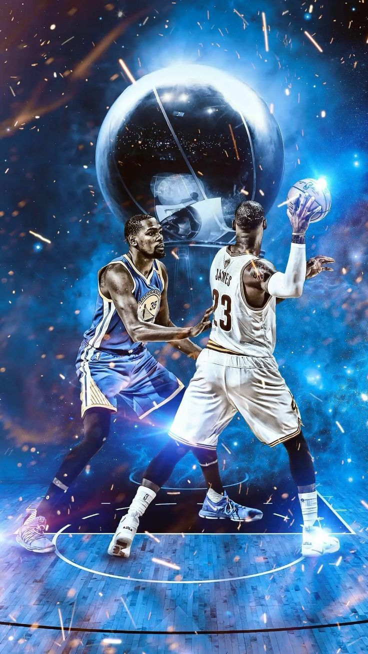NBA wallpaper Lebron and Kevin Durant | BASKETBALL | Nba basketball, Nba cavs, Nba lebron james