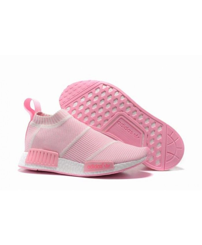 Cheap Adidas NMD City Sock Pink Trainers Womens  9706927ad