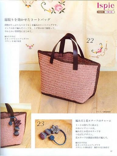crochet purse with charm   I really like that charm!