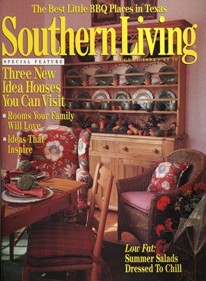 August 1993 | Three New Idea Houses You Can Visit. Living MagazineCurtain  ...