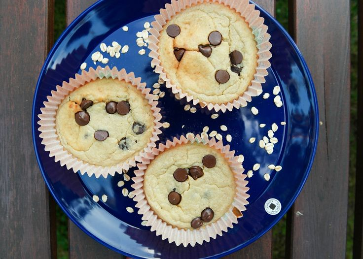 Nyttiga banan-havremuffins (glutenfria) som du enkelt mixar ihop i mixern   Bambi