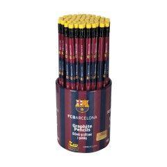 Obyčajná ceruzka HB s gumou FCBarcelona (as)