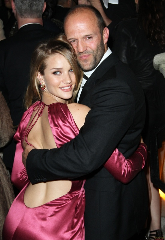 Rosie Huntington Whiteley & Jason Statham