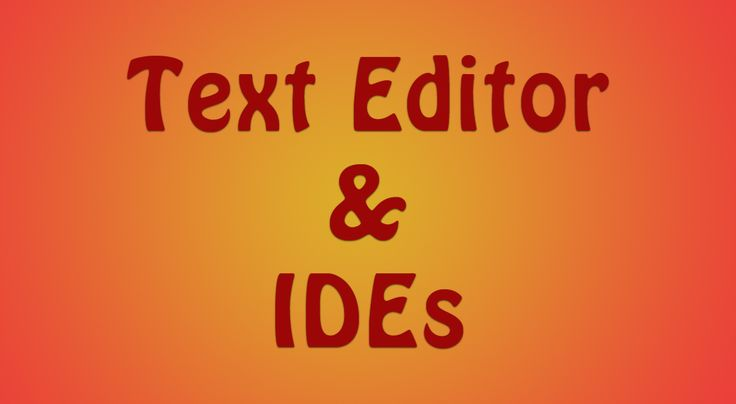 Top free html text editor and IDEs