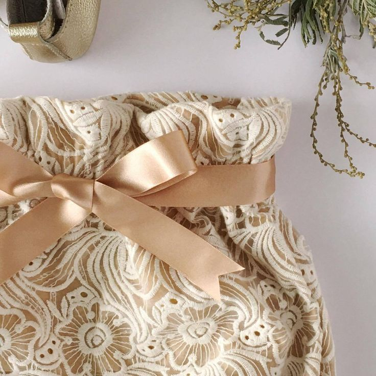 Embroidered Lace Detail - Boho Baby and Toddler Bloomers by Eighteen Fifty One