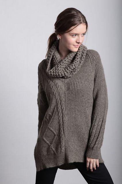 Ravelry: Bianca Textured Sweater pattern by Filatura Di Crosa Italia s.r.l.