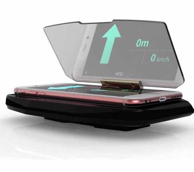 Universal Mobile Phone Car Holder Windscreen Projector HUD Head Up Navigation Display Holder for iPhone Samsung Smart Phones Amazing Deal! 40 % + Plus Discount