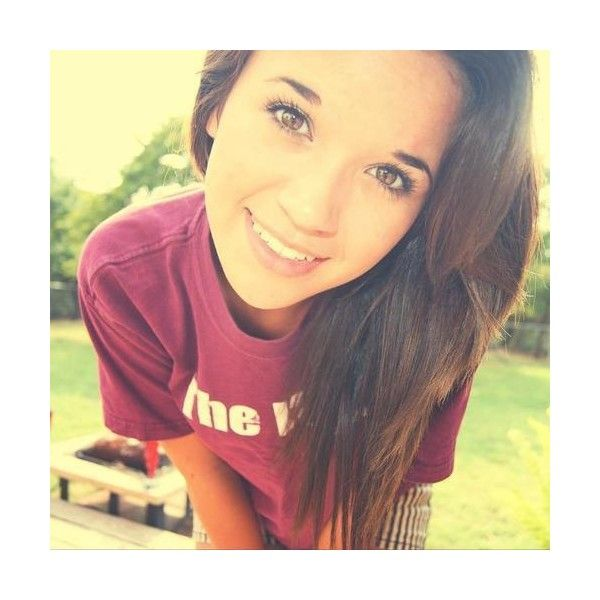 tumblr girl ❤ liked on Polyvore: Girl Hair, Eye Makeup, Beautiful Hair, Brown Hair, Girls Hair