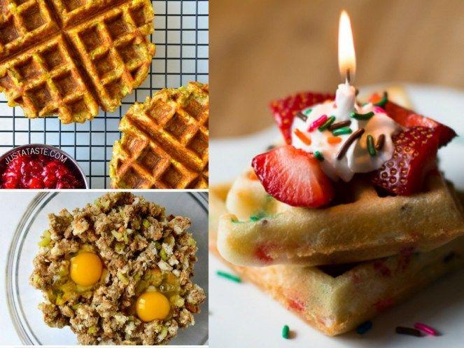 27 Waffle Maker Recipes You Won't Believe