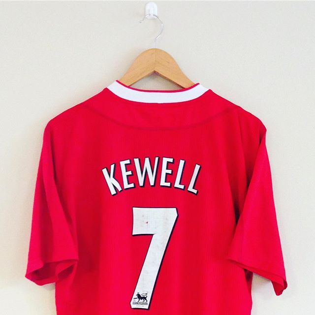 What a wand of a left foot Harry had! This Liverpool 02/04 home shirt is in stock now! #kewell #harrykewell #liverpool #liverpoolfc #lfc #anfield #ynwa #thekop #thereds #football #footballshirt #footballplayer #retro #retroshirt #retrofootball #vintage #vintagereebok #vintagefootball #vintagefootballshirt #classickit #classicfootball #premiership #premierleague #soccer #soccerjersey