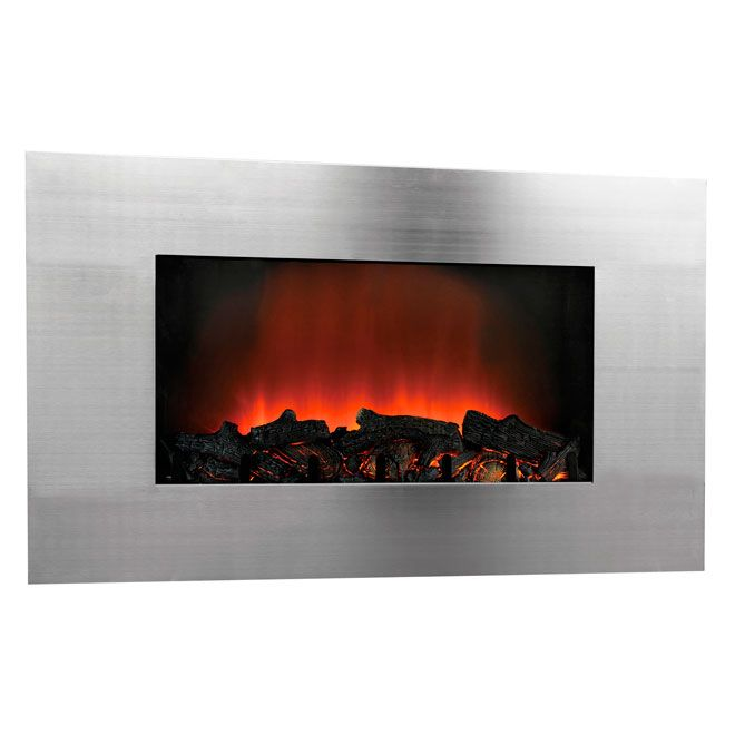 I have this wall mount electric fireplace for Foyer mural electrique costco