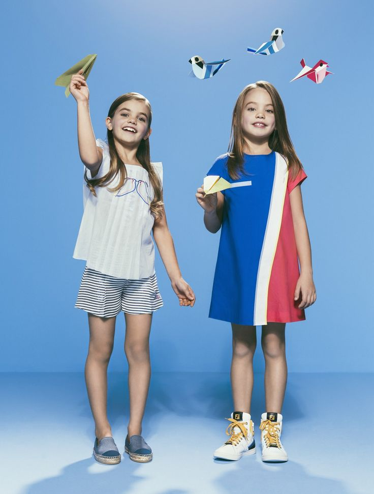 Fendi Kids Spring/Summer 2015 Collection