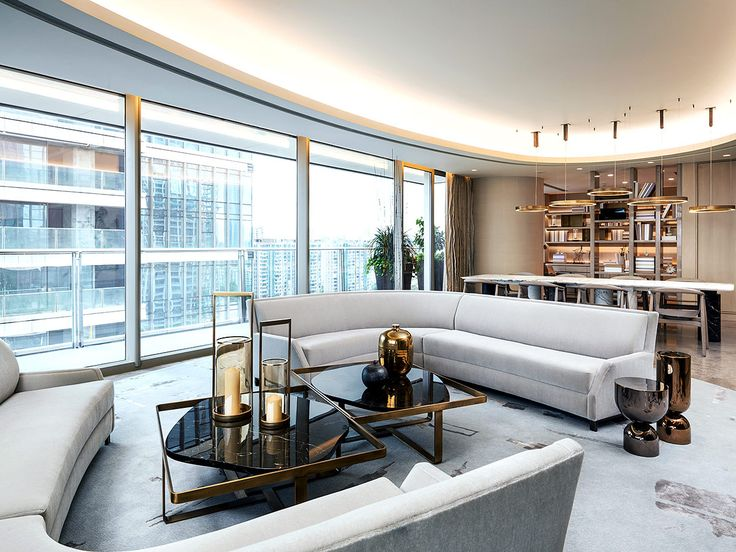 departamento en china por yabu pushelberg interior modernluxury