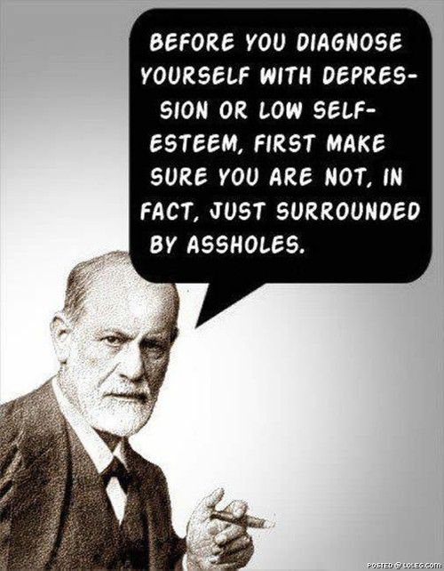 Before you diagnose yourself…
