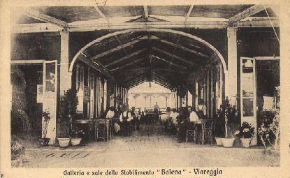 Viareggio. Galleria bagno Balena  Viareggio (LU)