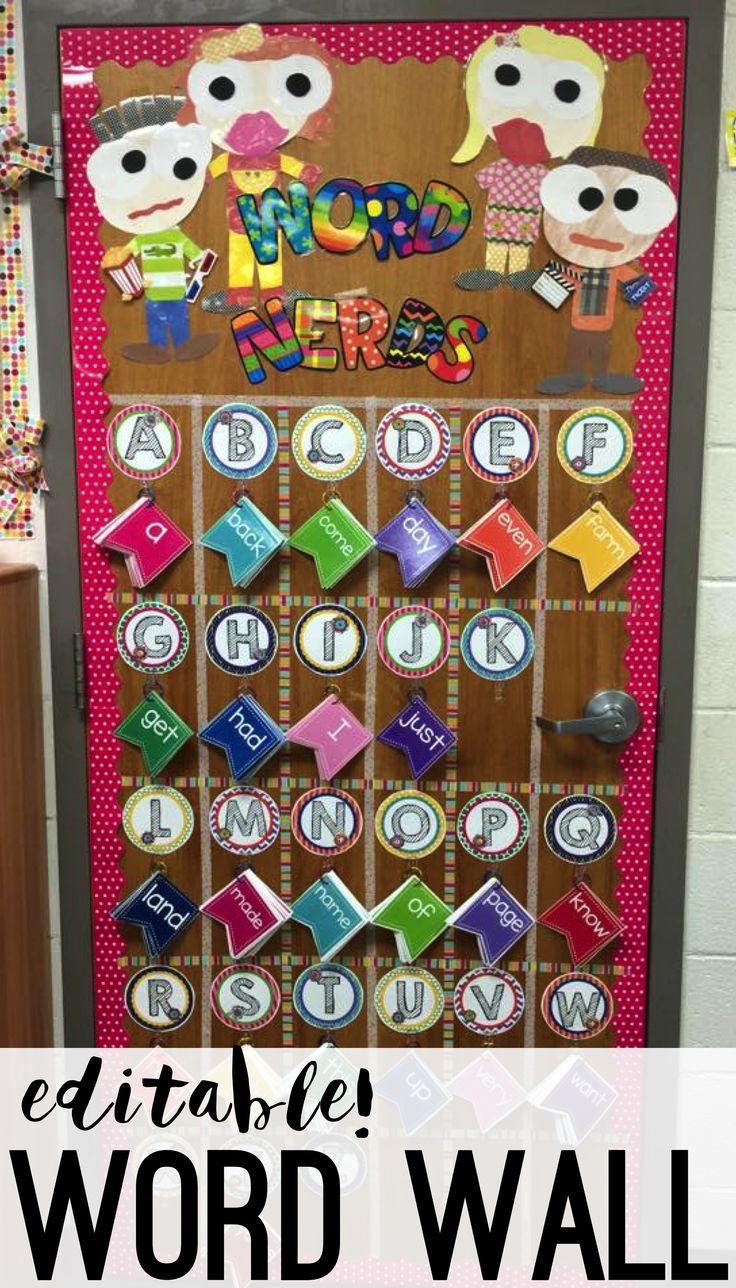 word wall - word wall ideas - word wall in the classroom - word wall activities - word walls