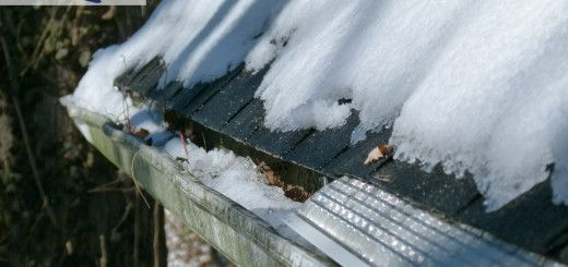Got Snow Get A Gutter Guard That Will Withstand All