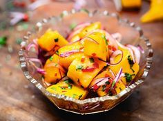 Ceviche de Mango (Mango Ceviche) From Ceviche: Peruvian Kitchen | Serious Eats : Recipes