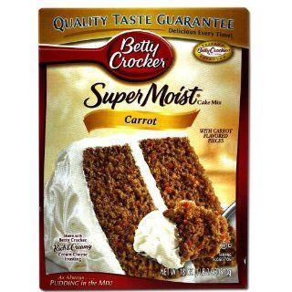 Betty Crocker Supermoist Cake Mix Carrot