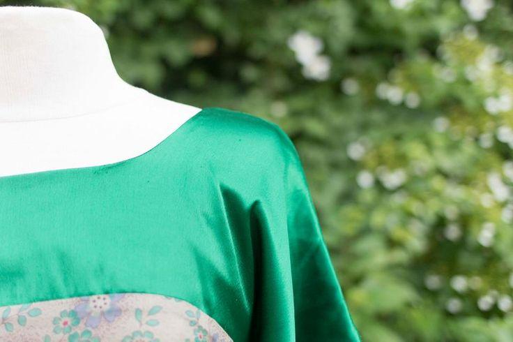 Smaragdgroene jurk. #prinsenenprinsessen www.prinsenenprinsessen.com