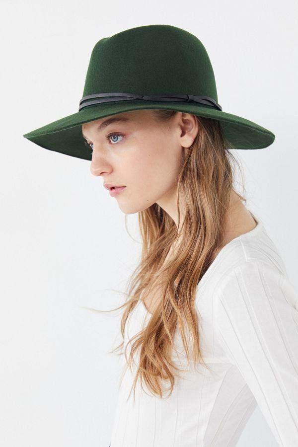 cf2700e54 UO Anna Felt Panama Hat in 2019 | New Arrivals | Hats, Boho hat, Fashion
