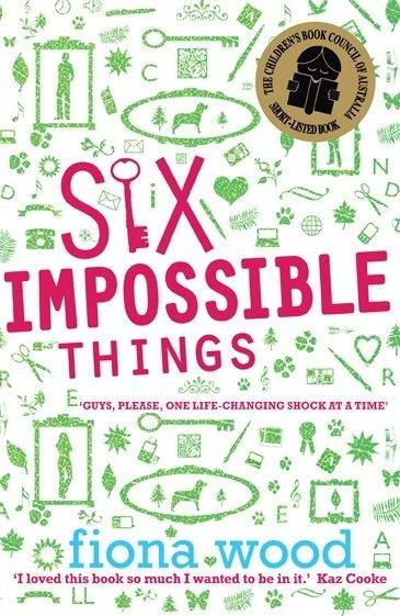 Fourteen-year-old nerd-boy Dan Cereill is not quite coping with a reversal of family fortune, moving house, new school hell, a mother with a failing wedding cake business, a just-out gay dad, and an impossible crush on the girl next door. His life is a mess, but for now he's narrowed it down to just six impossible things...