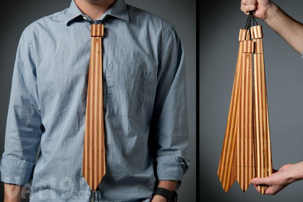 The Wood Tie:This has Father's Day written all over it ;)