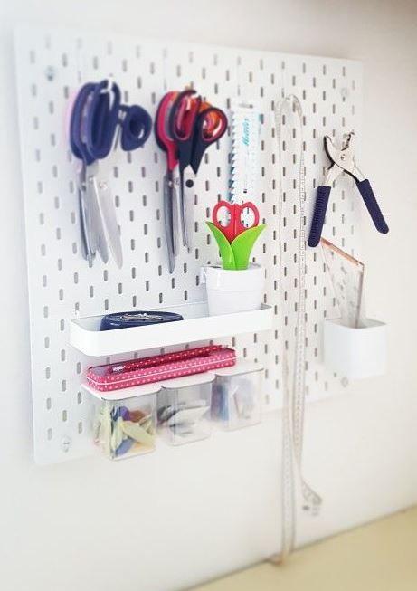 Varrósarok, tárolás, IKEA - Planning my sewing corner with IKEA stuff.