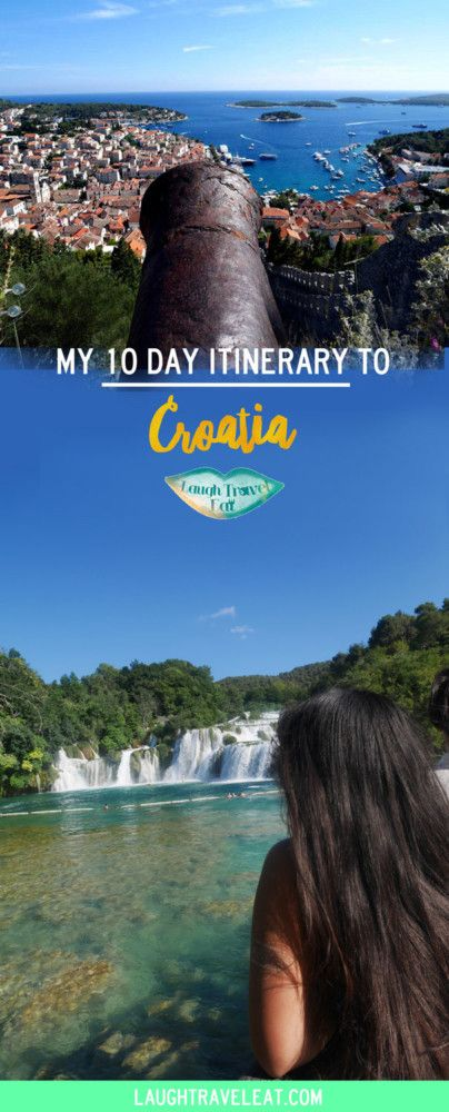 10 days in Croatia isn't enough, but we got to Dubrovnik, Split, Zadar, Krka and Plitvice National Park has been a dream and here's how
