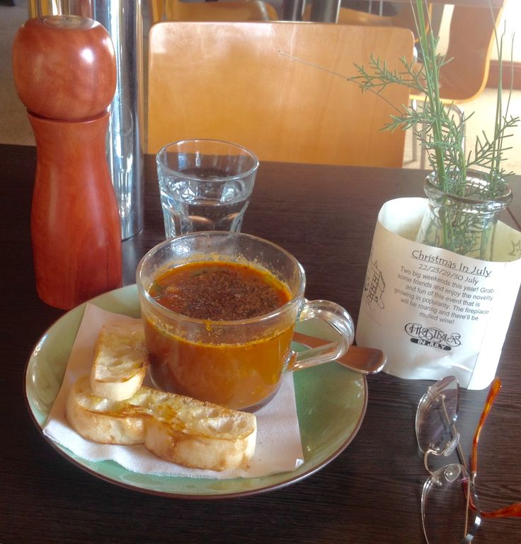 Vegetable and Beef Goulash Soup - Bistro One46 - Kangaroo Valley - in the Southern Highlands - purportedly the most beautiful valley in NSW