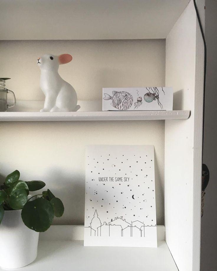 Barnrum, kaninlampa, postern från www.littleheart.se