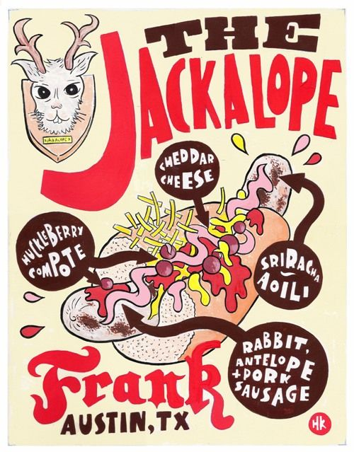 Jackalope frank - Frank restaurant Austin, TX