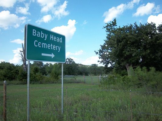 This grimly-titled Texas cemetery is all that remains of a Wild West settlement with possibly the worst name