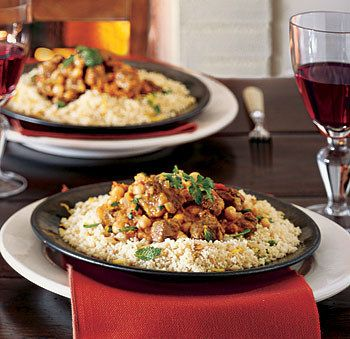 Goes great with: Couscous flavored with chopped mint, toasted slivered almonds…