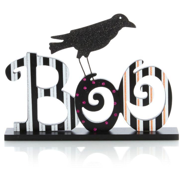boo crow sign 3