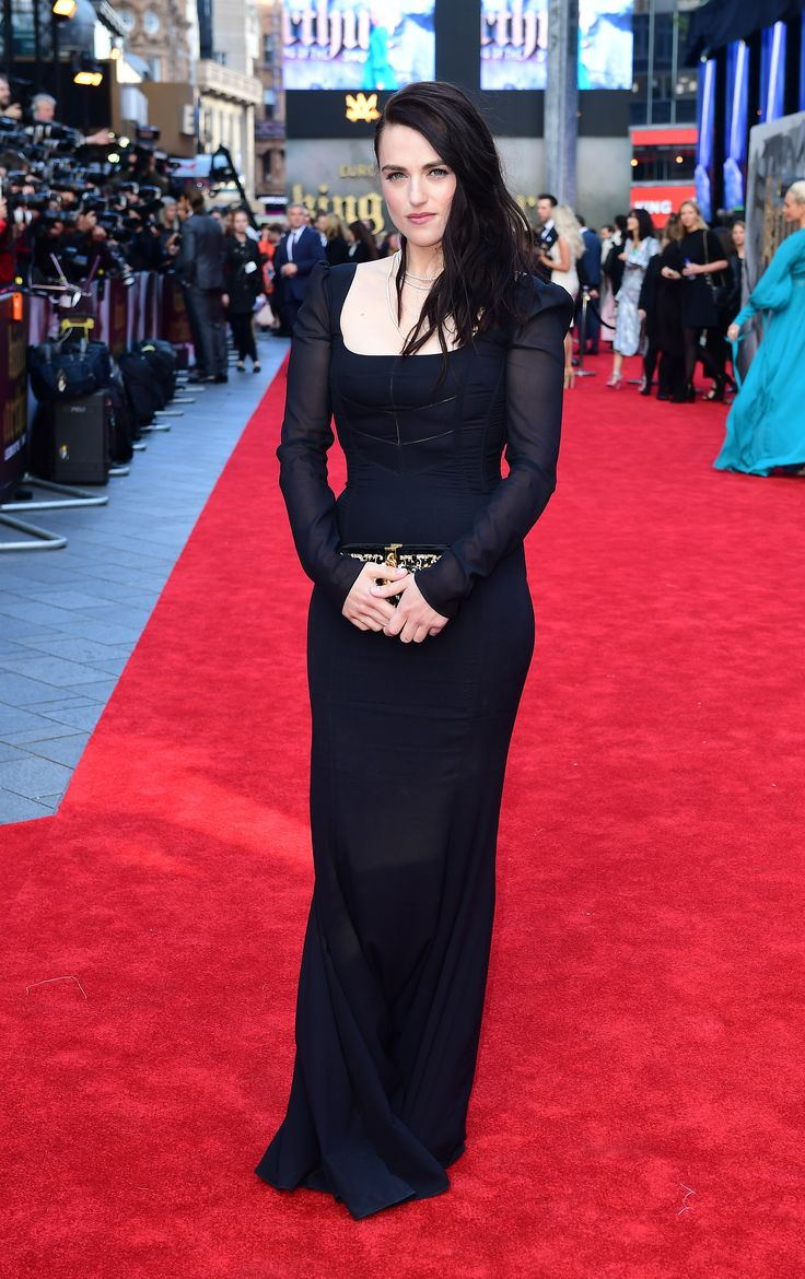 katie on red carpet king arthur the legend of the sword