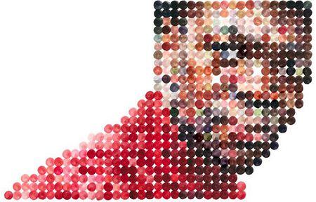 Área Visual - Blog de Arte y Diseño: Nathan Manire. Retratos abstractos en acuarela