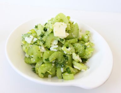 Celery Salad with Grana Padano Cheese: Celery Salad