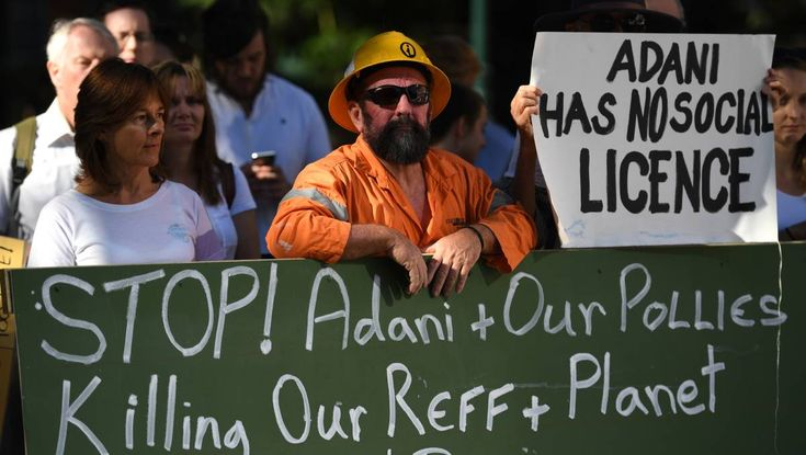 Polls shows most don't want Adani to get a subsidy for its proposed mine