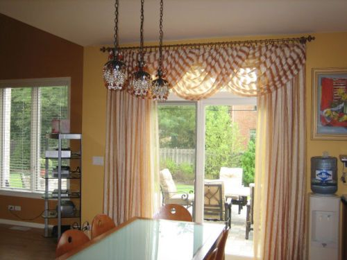 Patio Door Window Treatments The Decorators Dream