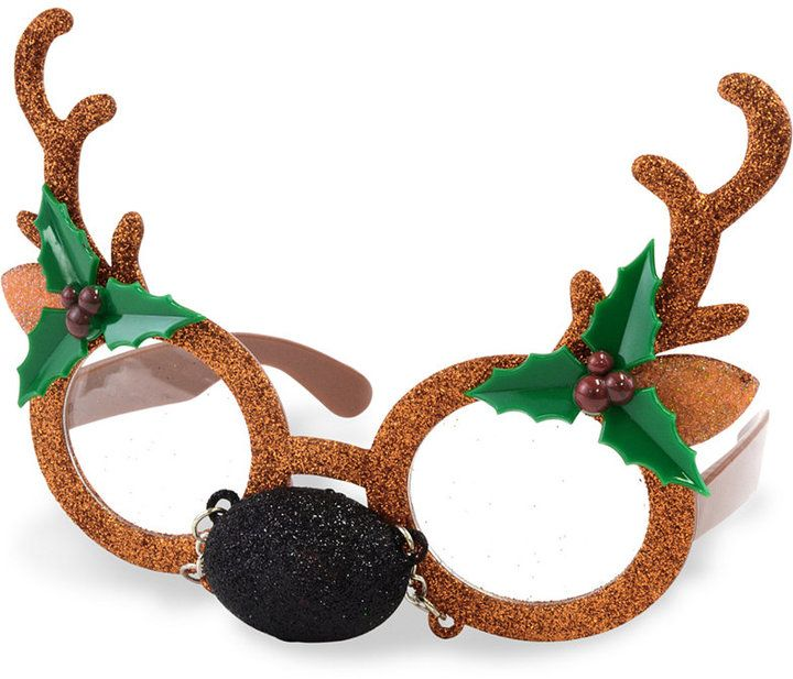 Celebrate Shop Antler Novelty Sunglasses, Created for Macy's